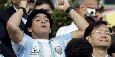 "En 2007 se estrenó en Italia una película inspirada en él llamada ""Maradona, la mano di Dio"". Foto:Getty Images"