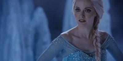 """Georgina Haig es también Elsa en """"Once Upon a Time"""". Busca a toda costa salvar a su hermana Anna de su tía, la malvada """"Reina de las Nieves"""". Foto:vía ABC"""