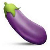 La berenjena morada fue prohibida en Instagram por parecerse, según la app, al órgano sexual masculino Foto:Emojipedia