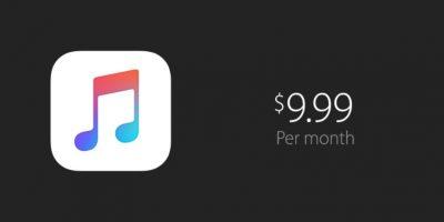 El precio de la suscripción fue fijado en 9.99 dólares al mes por persona. Sin embargo, también ofreció una promoción familiar de seis personas por 14.99 dólares, la cual solo duraría tres meses Foto:Apple