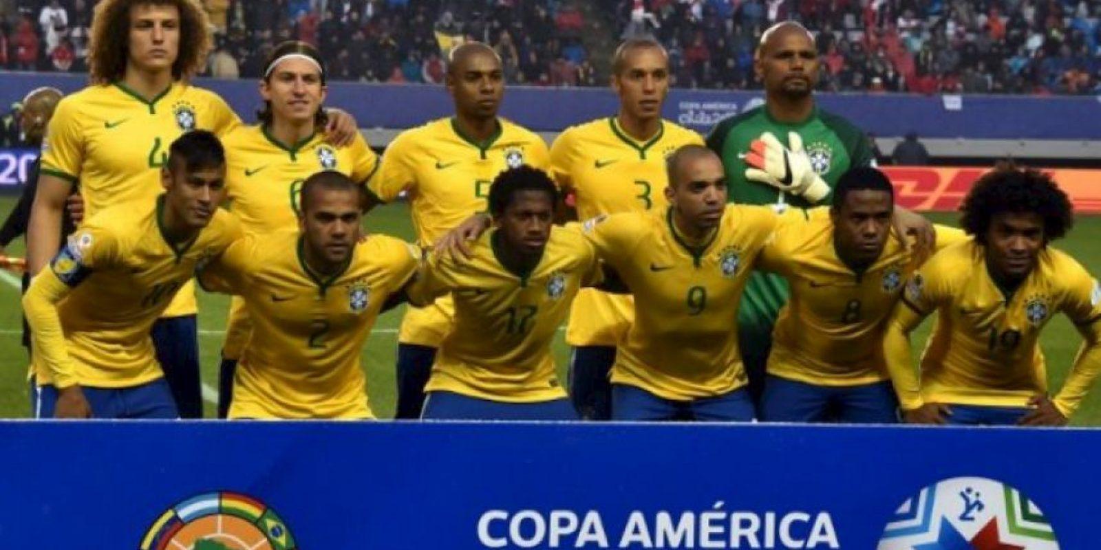 Brasil fue líder del Grupo C Foto:AFP