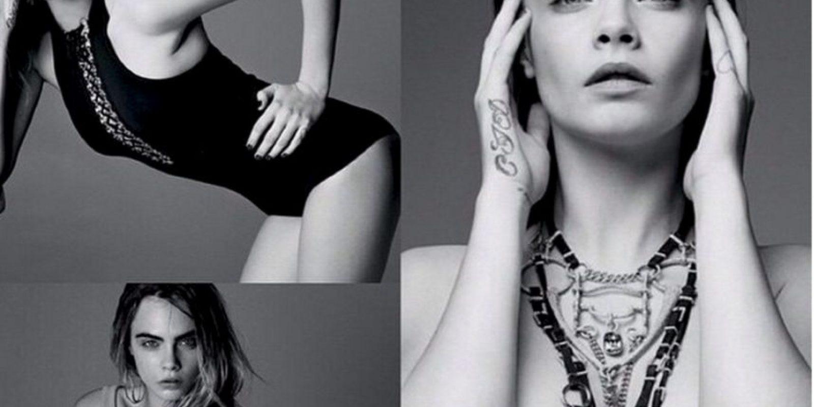 """En una reciente entrevista con la revista """"Vogue"""" Foto:Vía instagram.com/caradelevingne/"""