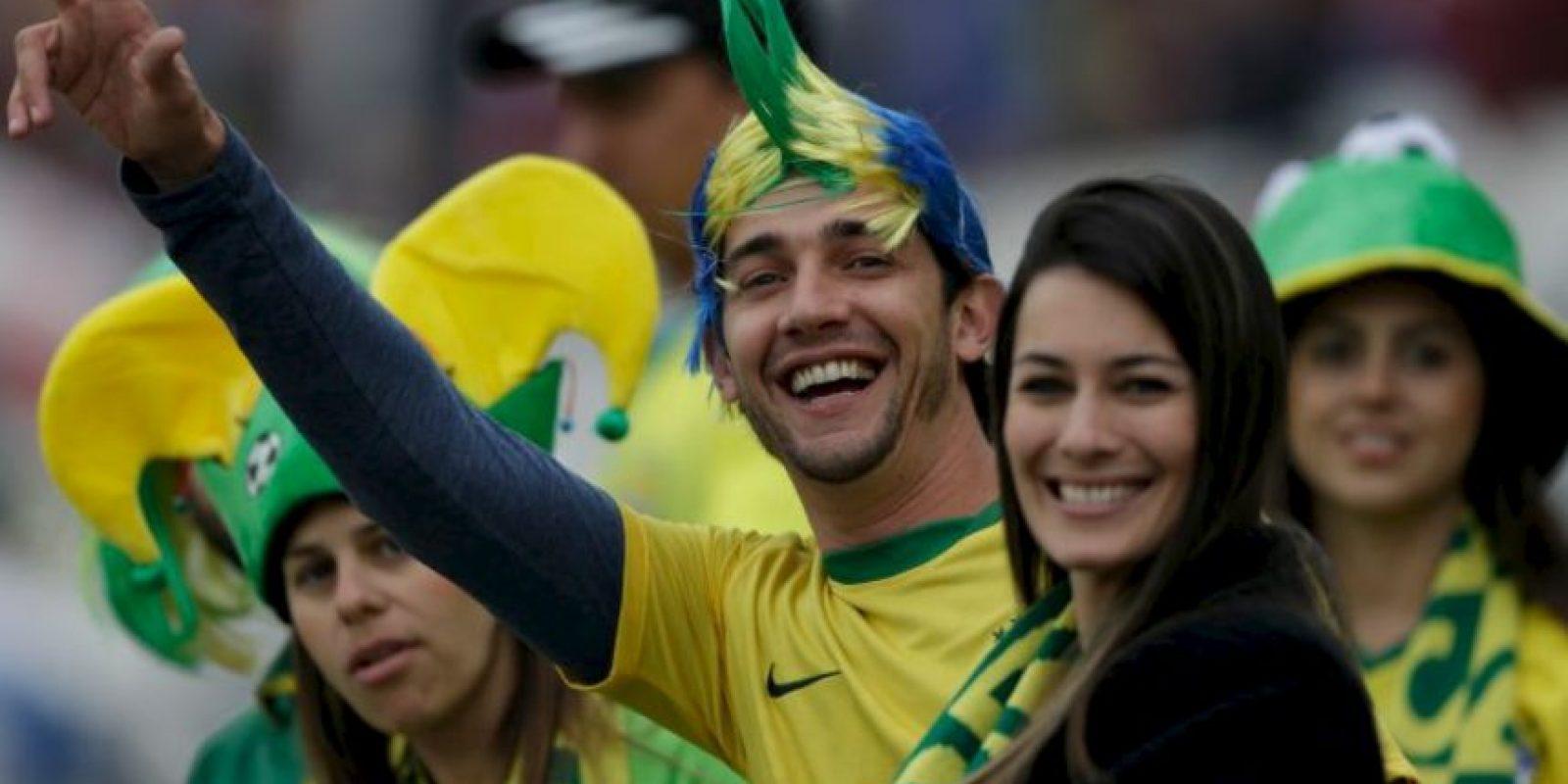 No podían faltar las brasileñas Foto:AFP