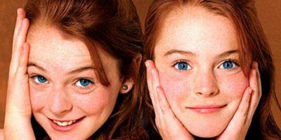 """Cuando tenía 11 años Lindsay Lohan protagonizó """"Juego de Gemelas"""". Foto:Vía imdb.com"""
