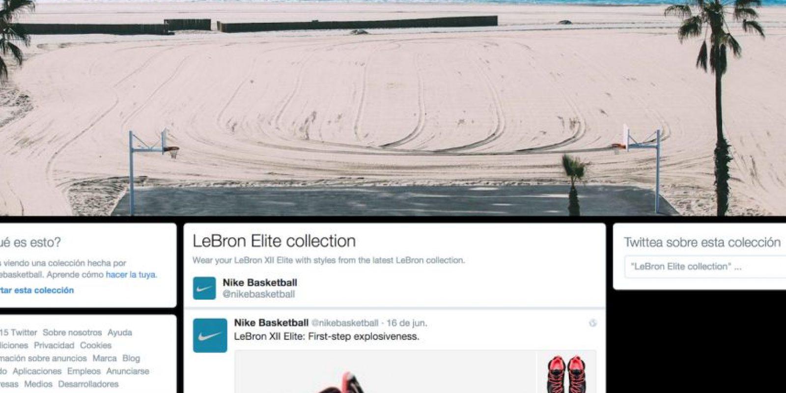 Nike Foto:twitter.com/nikebasketball/timelines/610845987951636480