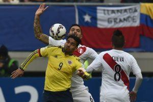 Los colombianos esperaban que su escasa actividad en Manchester United no afectara su rendimiento, pero no se ha mostrado en buen nivel en el torneo que se juega en Chile Foto:AFP