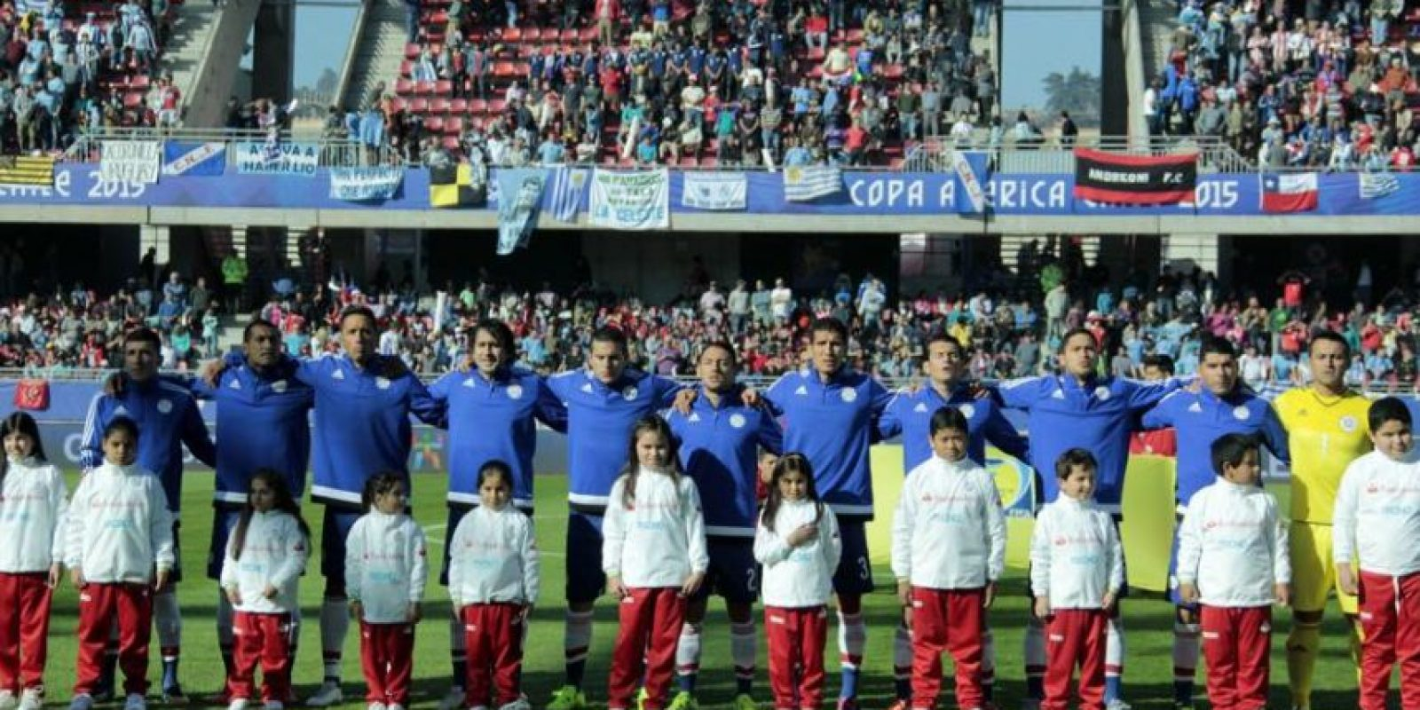 Paraguay vs. Brasil / 27 de junio Foto:Vía facebook.com/AlbirrojaPrensa
