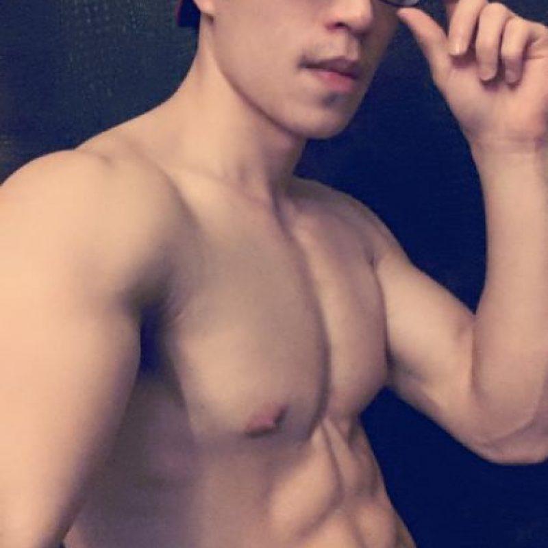 Por ahora, él es parte de una curiosa tendencia en Asia. Foto:vía Facebook/ Yi Tin Chen