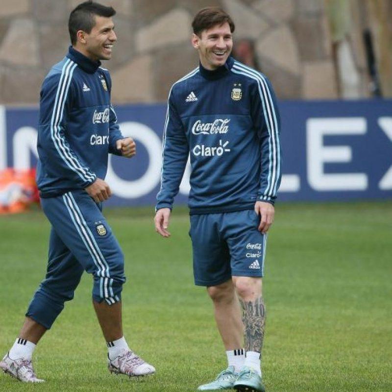 10. Lionel Messi también se apagó Foto:Vía facebook.com/AFASeleccionArgentina