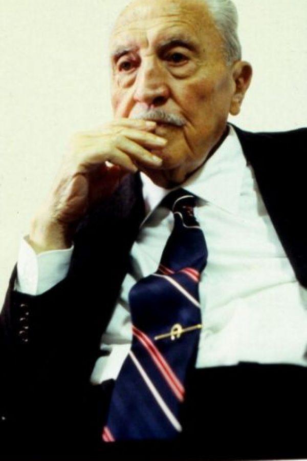 Fue jugador, entrenador, directivo y presidente del Real Madrid por lo que es la figura más emblemática del equipo merengue. Foto:Getty Images
