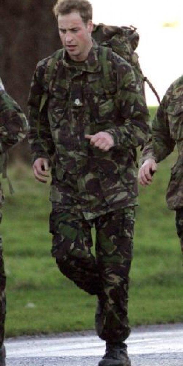 Aquí, a comienzos de la décad de 2000, entrenando con el Ejército. Foto:vía Getty Images