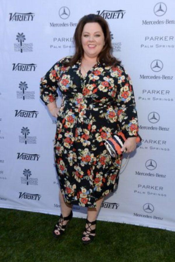 2. Melissa McCarthy: 40 años. Foto:vía Getty Images