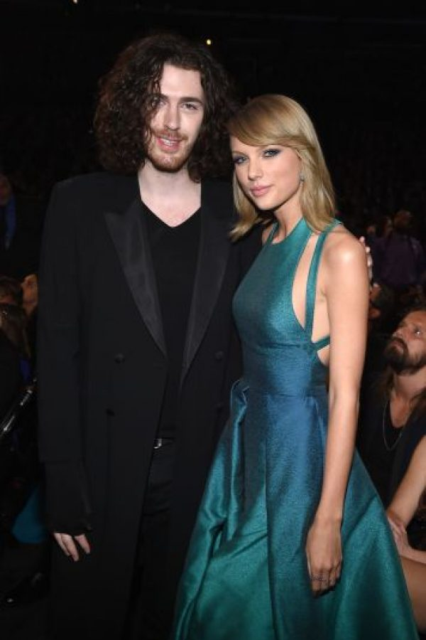 Taylor y Hozier Foto: Getty Images