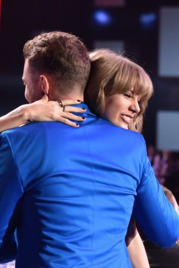 Taylor con Justin Timberlake Foto: Getty Images
