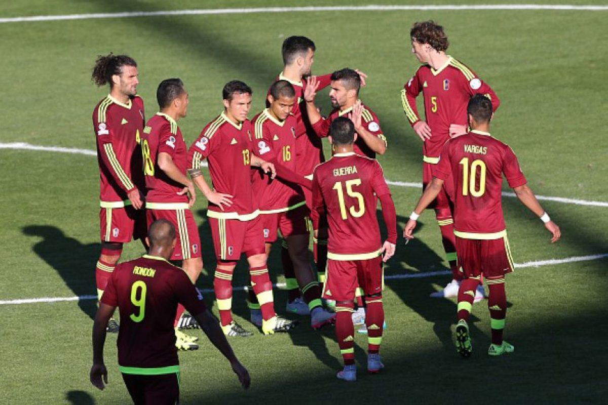 3. Venezuela derrotó a Colombia Foto:Getty Images