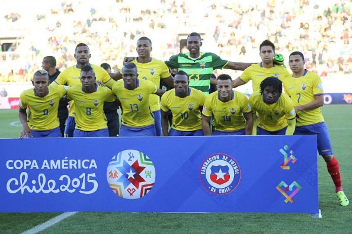 6. ¡Adiós Ecuador! Foto:Getty Images