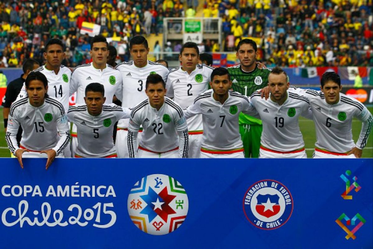 5. México se fue en primera ronda Foto:Getty Images