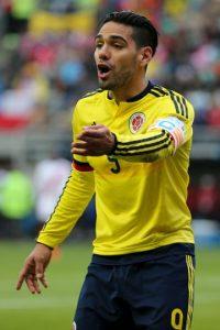 """Falcao era uno de los jugadores que más expectación causó previo a la Copa. Tras perderse el Mundial por lesión, se esperaba una reaparición gloriosa pero no ha pasado, el """"Tigre"""" no se encuentra a sí mismo ni al goleador que era en el Atlético de Madrid y el Porto. Foto:Getty Images"""