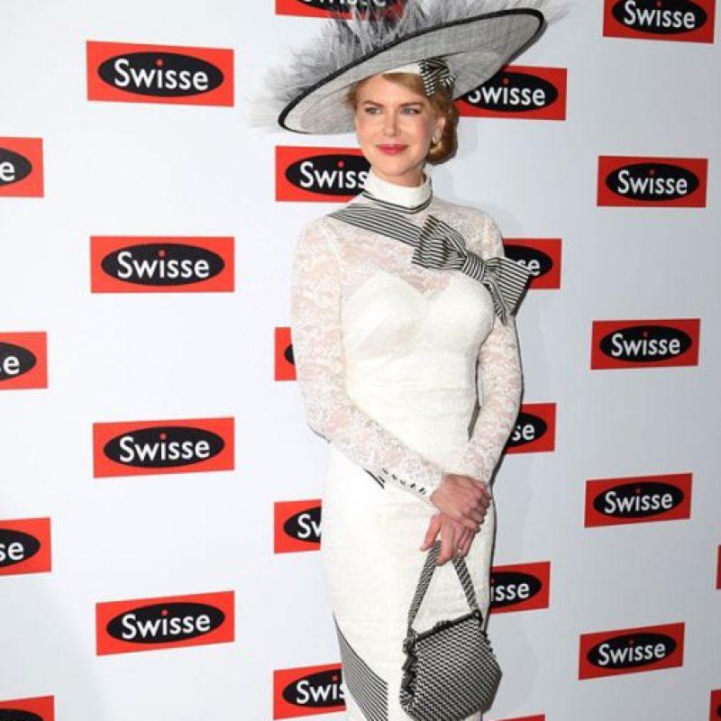 """O de Nicole Kidman, vestida ASÍ PARA UN EVENTO, como Audrey en """"Mi Bella Dama"""". No. Foto:vía Getty Images"""