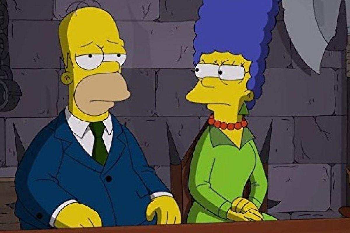 """La crisis conyugal iniciaba cuando """"Homero"""" era víctima de una enfermedad crónica. Foto:IMDb"""