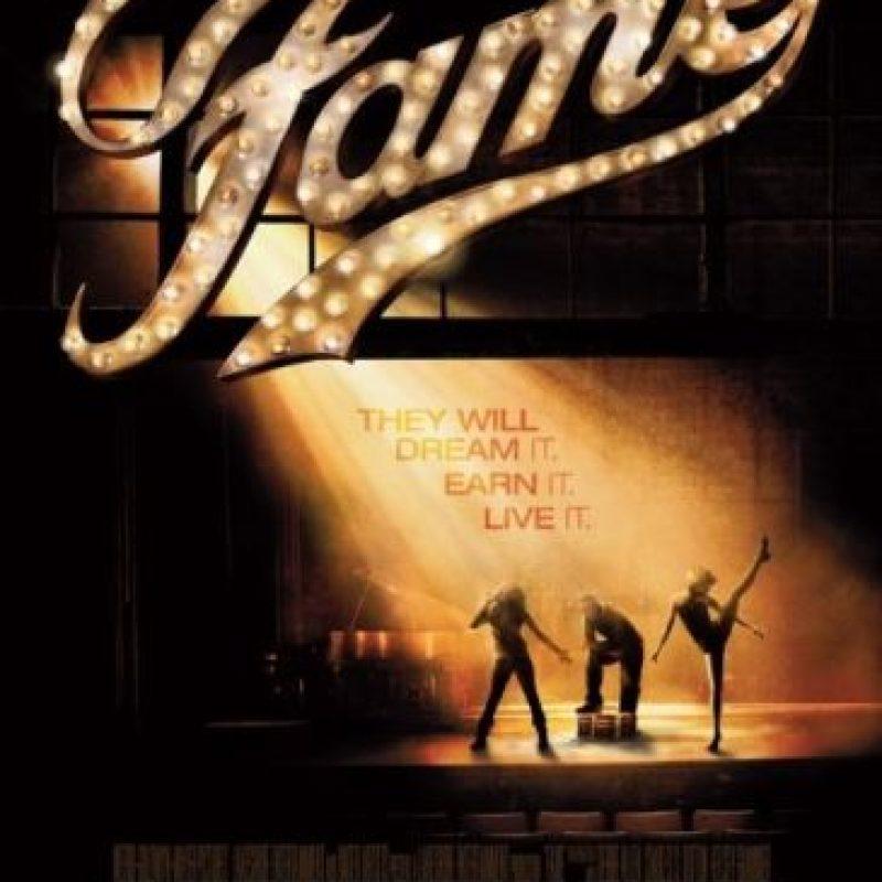 """""""Fame"""" El remake de esta película de culto musical de los 80 fue destruida por su pobre edición, sus caracterizaciones incompletas y por su pobre intento de apelar a la generación de """"High School Musical"""". Fue un fracaso taquillero. Original """"Fame"""" (1980) Foto:IMDb"""
