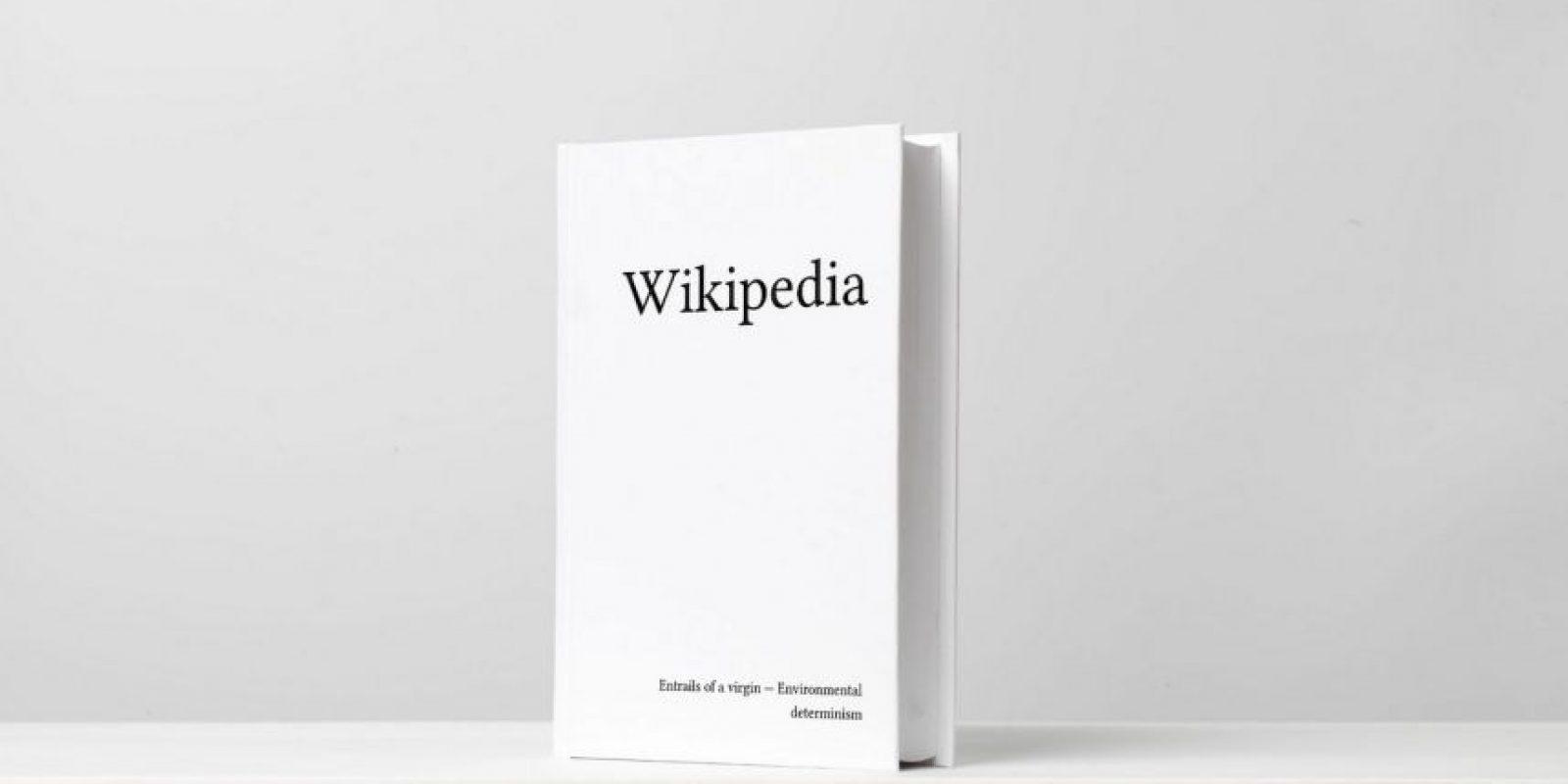 Habría más de siete mil volúmenes de 700 páginas cada uno. Foto:printwikipedia.com