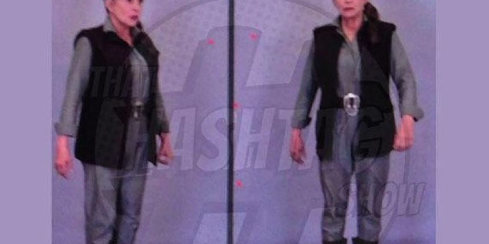 """""""Princesa Leia Organa"""" en """"Star Wars: El despertar de la fuerza"""" Foto:Twitter/bravoINTEL"""