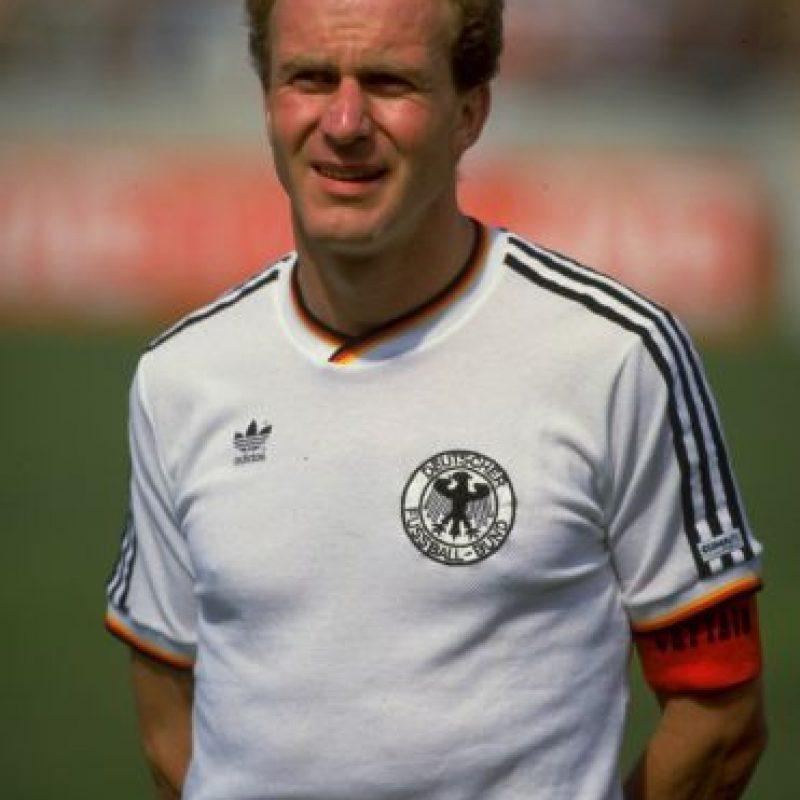 9. Karl Heinz Rummenigge Foto:Getty Images