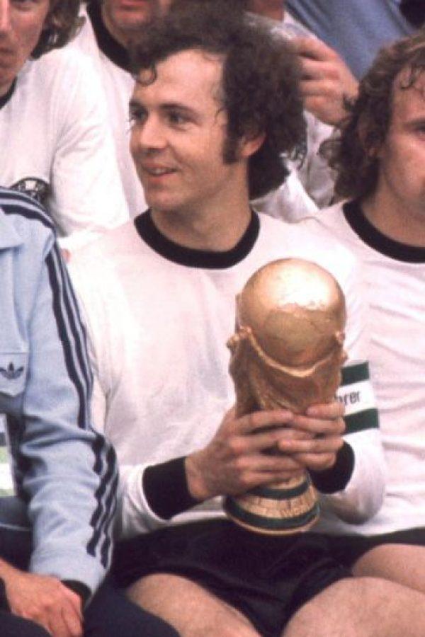 7. Franz Beckenbauer Foto:Getty Images