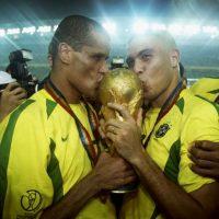 Y fue parte de la selección de Brasil que se coronó en Corea Japón 2002. Foto:Getty Images