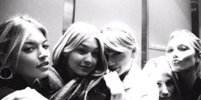 2. Tiene tremendo grupo de amigas. Karlie Klos… Gigi Hadid… Foto:vía Instagram/taylorswift