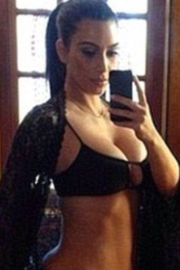 Y Kim, 9 días después. Foto:vía Instagram/Kim Kardashian