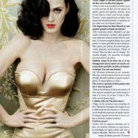 "Katy se atrevió a salir así en ""Vanity Fair"". Foto:vía Vanity Fair"