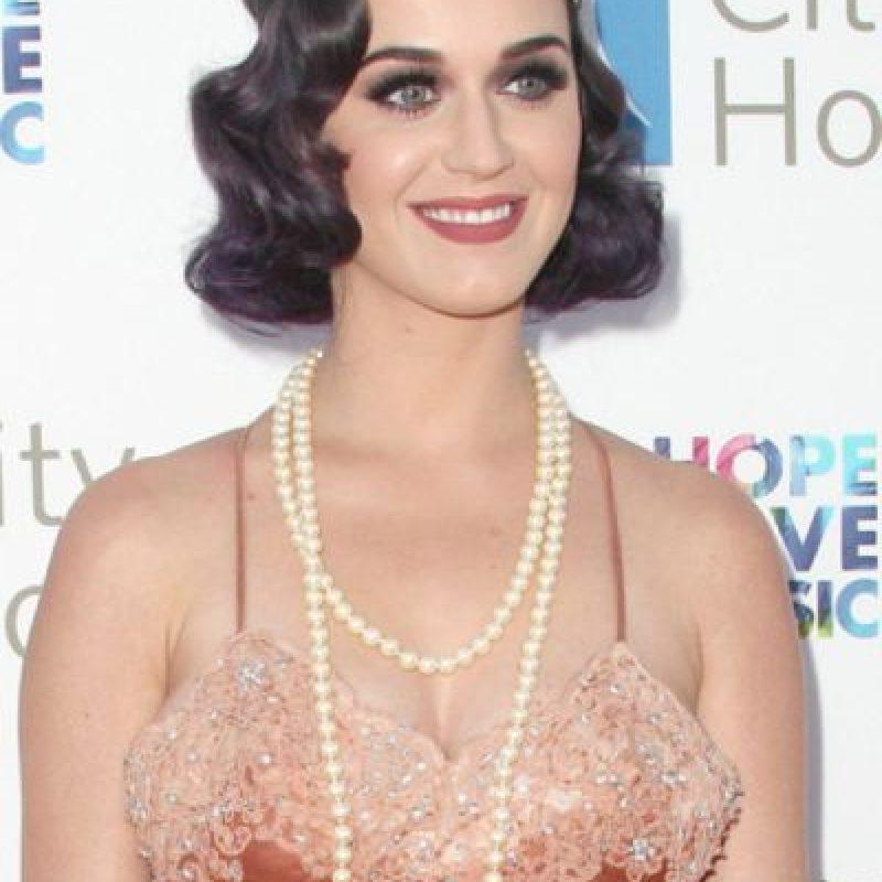 Katy Perry se quedó en 1925 y bien gracias. Foto:vía Getty Images