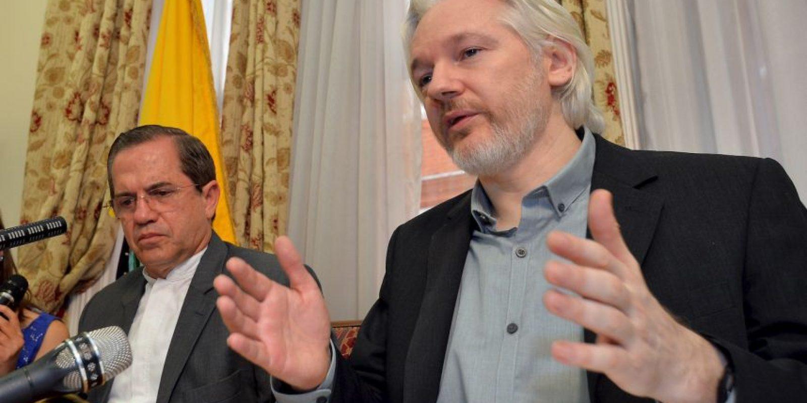 """Al respecto, Julian Assange informó: """"Los lectores pueden esperar otras revelaciones específicas e importantes"""". Foto:Getty Images"""