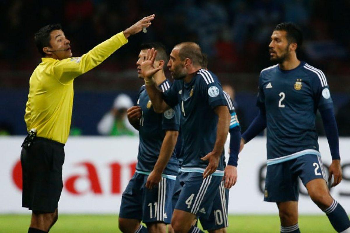 """El brasileño será el encargado de dirigir el Chile vs. Uruguay y ya dirigió a los """"Charrúas"""" en fase de grupos ante Argentina. Foto:Getty Images"""