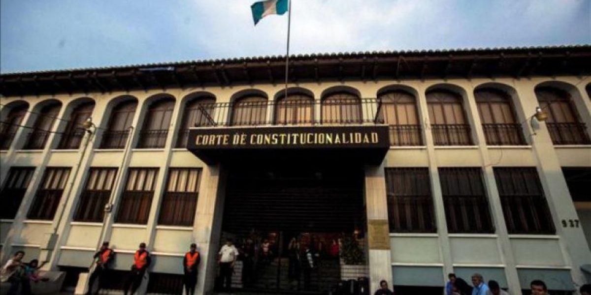 Corte de Constitucionalidad comienza investigación sobre amparo a Otto Pérez