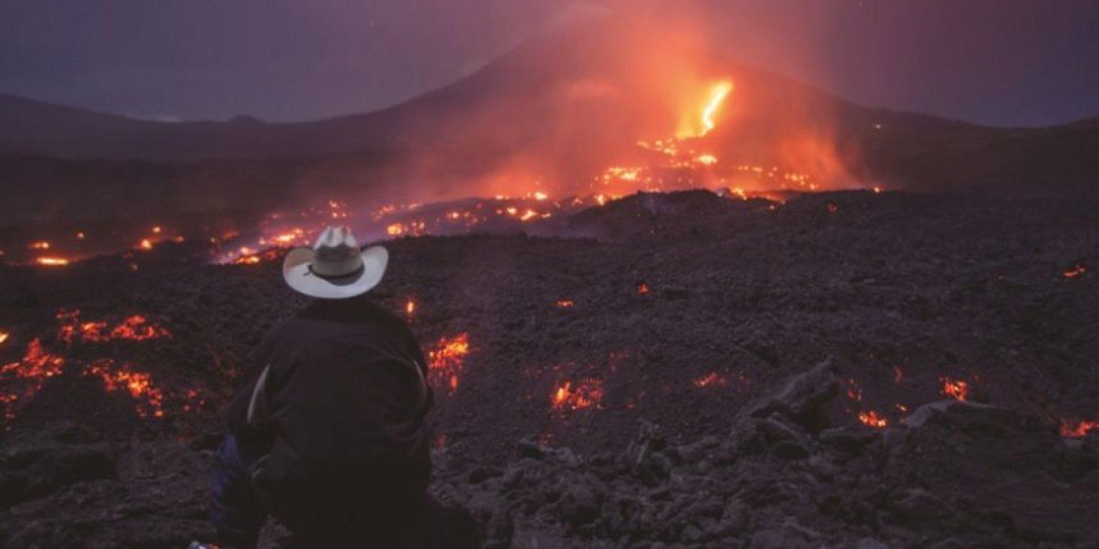 Parque Nacional Volcán Pacaya y Laguna Calderas Foto:Conap