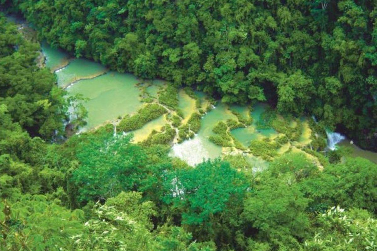 Monumento Natural Semuc Champey Foto:Conap