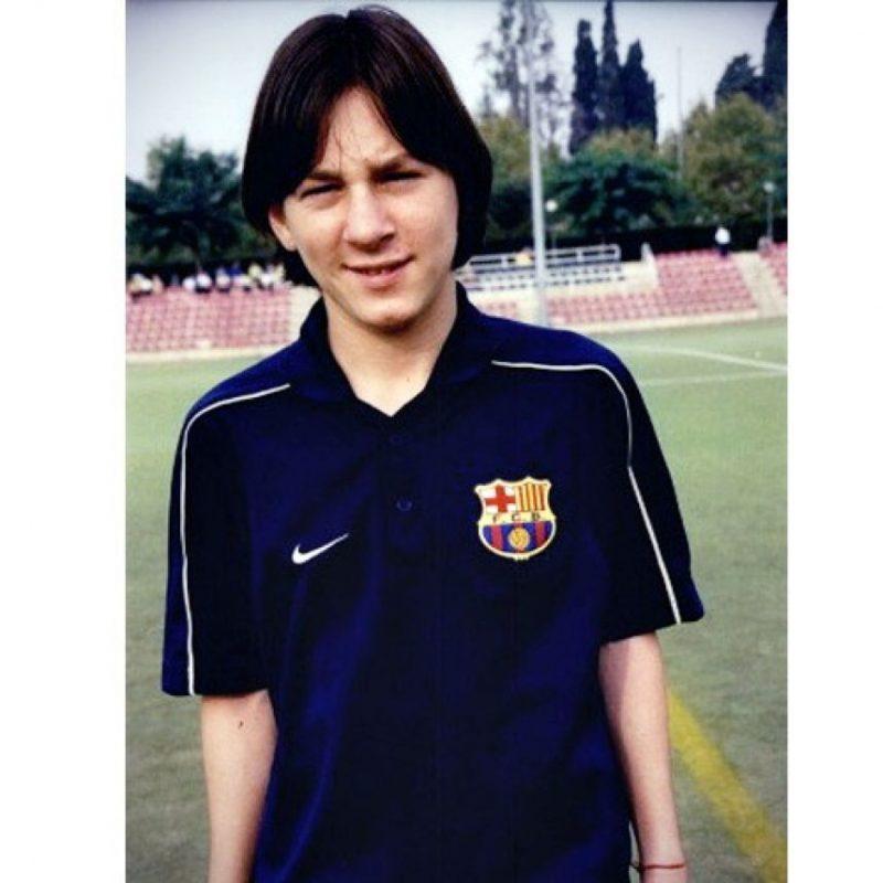 9. Su primer contrato con el Barcelona lo firmó en una servilleta Foto:pinterest.com