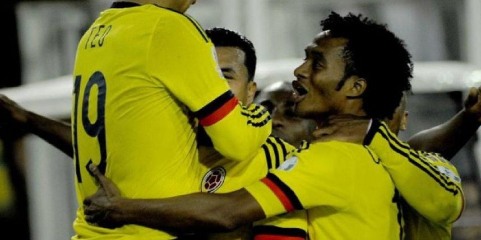 3) Colombia. Foto:Vía facebook.com/FCFSeleccionColPage