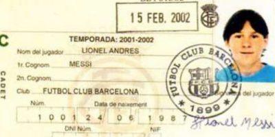 El club azulgrana le celebró en esta forma particular su cumpleaños 28 al argentino. Foto:Publinews