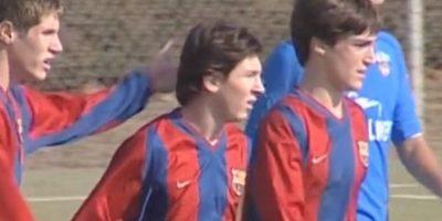 VIDEO. El Barça muestra imágenes inéditas de Messi en su filial