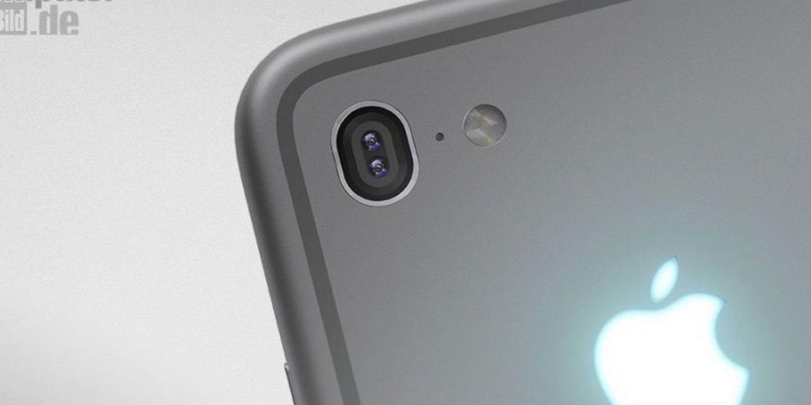 El sitio web alemán Computer-Bild mostró un concepto dle iPhone donde se observaría un logo luminoso y brillante, mismo que sería el primero en los smartphones de la empresa estadounidense. Foto:Tumblr