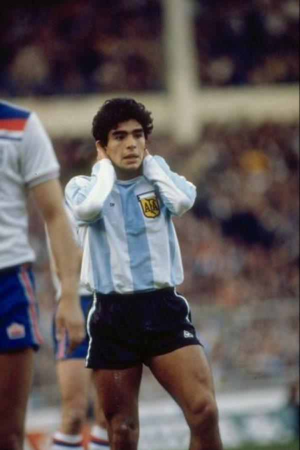 2. Diego Armando Maradona (Argentina) Foto:Getty Images