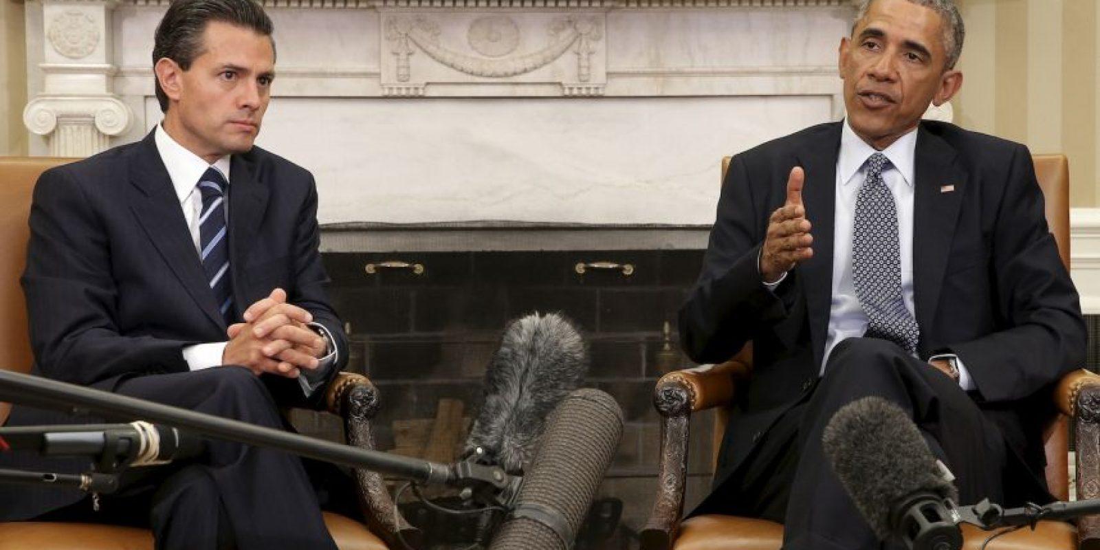 """Según """"20 minutos"""" el presidente de México fue espiado cuando era candidato a ese cargo. Foto:Getty Images"""