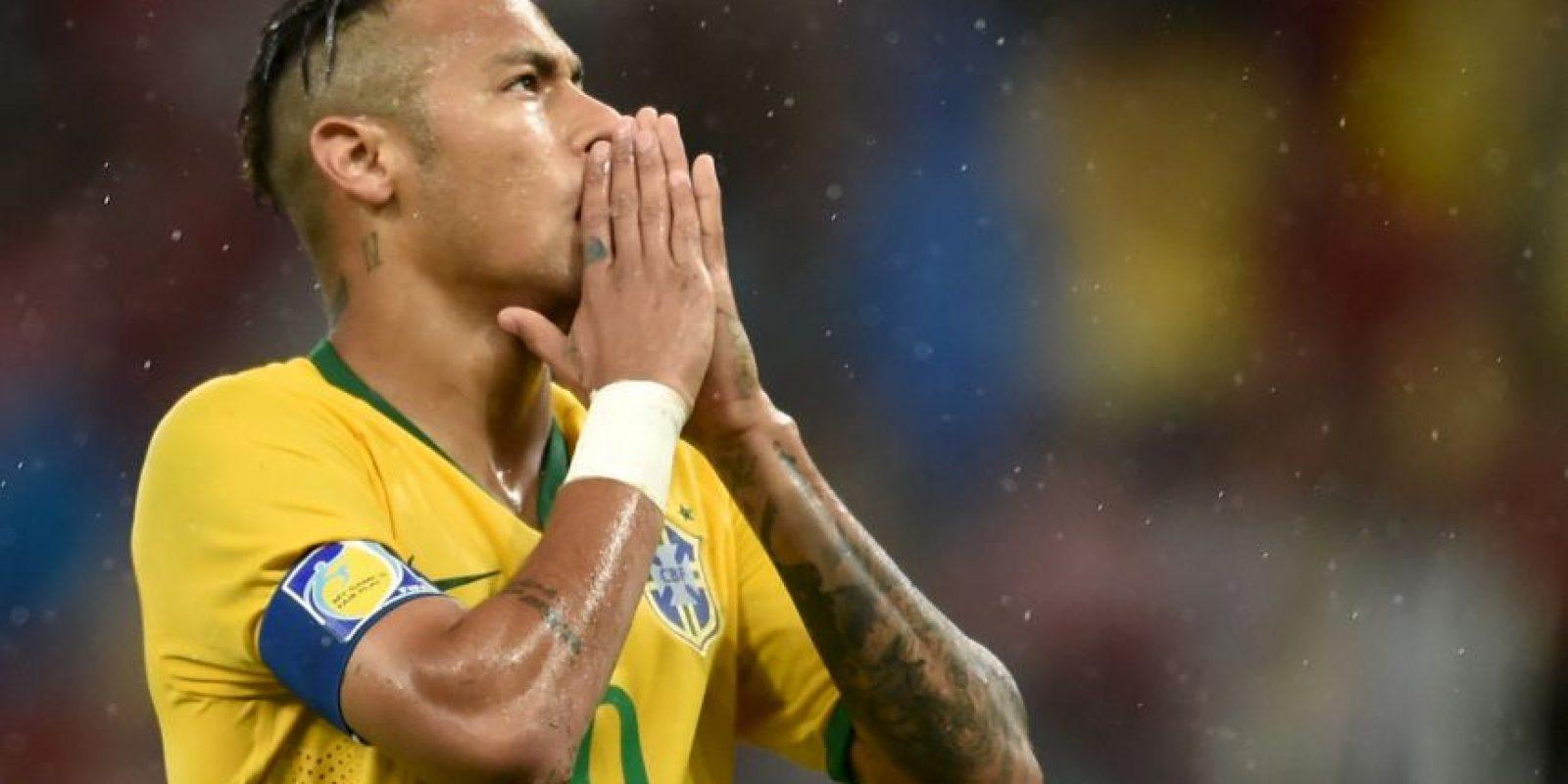 """Neymar está con """"vacaciones obligadas"""". Foto:Getty Images"""