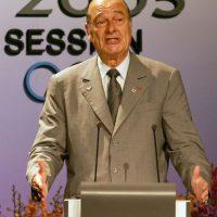 2. Su mandato como presidente de Francia comprendió el periodo de 1995 a 2007. Foto:Getty Images