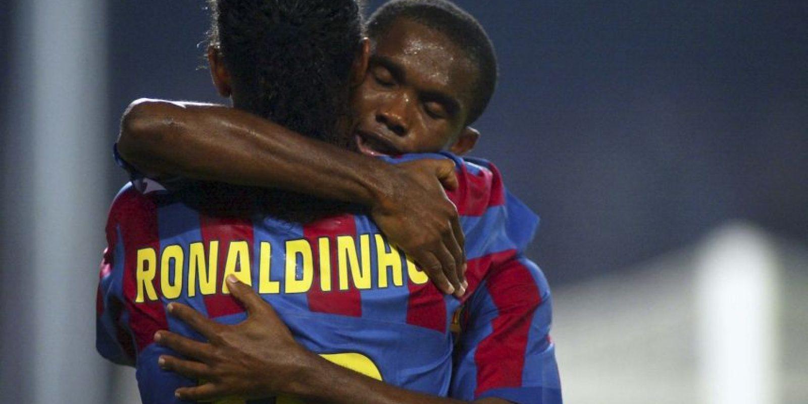 Ambos futbolistas coincidieron en el Barcelona de 2004 a 2008. Foto:Getty Images