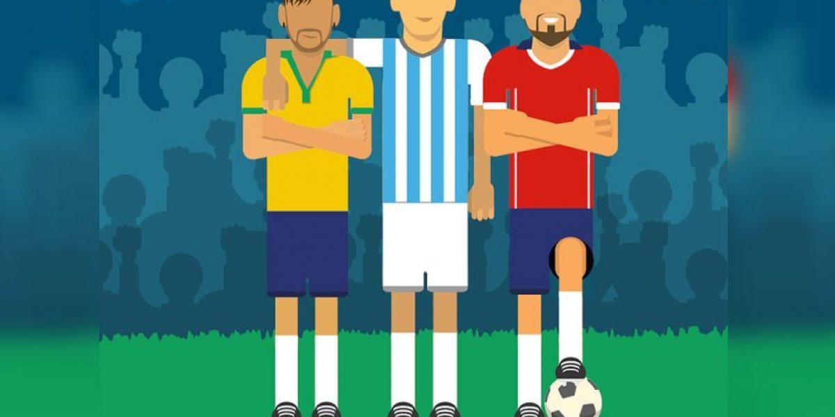 Los jugadores, árbitros y entrenadores más buscados de la Copa América